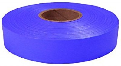 "600"" x 1"" Blue Flagging Tape"