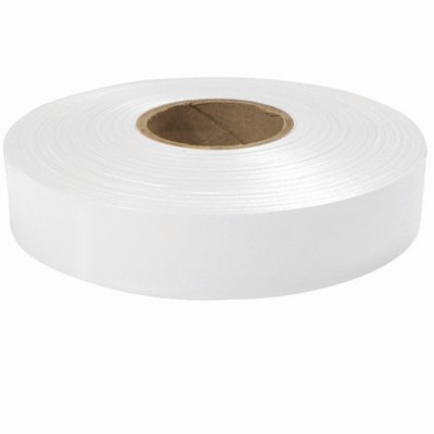 "600"" x 1"" White Flagging Tape"