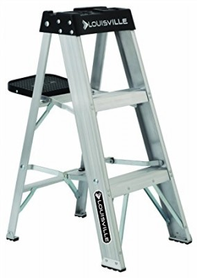 3 ft Aluminum Standard Step Ladders