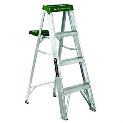 4 ft Aluminum Standard Step Ladders