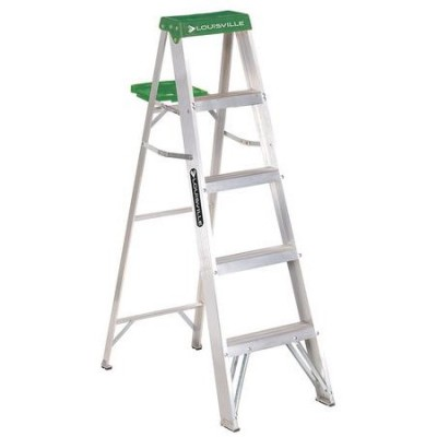 5 ft Aluminum Standard Step Ladders