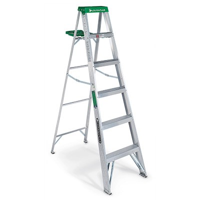 6 ft Aluminum Standard Step Ladders