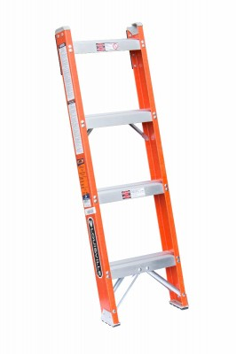 Fiberglass Shelf Ladder