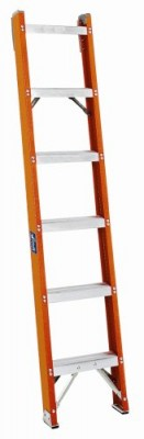 5 ft Fiberglass Single Extension Ladders