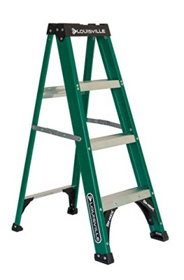 4 ft Fiberglass Standard Step Ladders