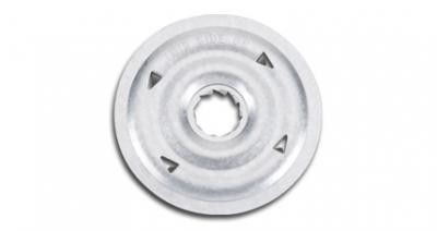 "Galvalume Plate 2"" Round (Box of 1000)"