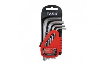 10pc Metric Short L-Type Hex Key Set - 1/pack