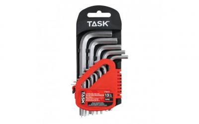 13pc SAE Short L-Type Hex Key Set - 1/pack
