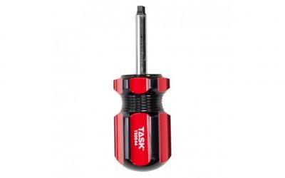 "#2 Robertson® 1-1/2"" Stubby Acetate Hard Grip Screwdriver - Bulk"