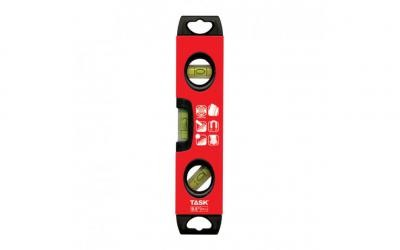 "9.5"" Magnetic Aluminum Box Beam Torpedo Level - 1/pack"
