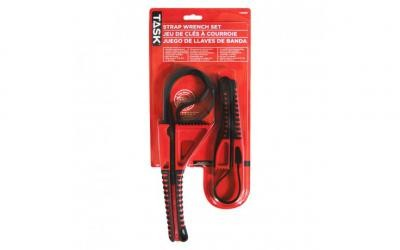 2pc Strap Wrench Set - Carded