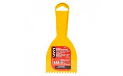 "3"" (3/16"" x 3/16"") Plastic Saw Tooth Adhesive Spreader"