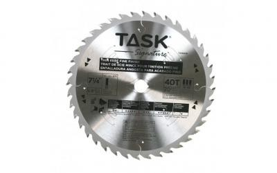"7-1/4"" 40T HG Hollow Ground Fine Finishing Blade - Bulk"
