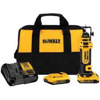 20V MAX* Lithium Ion Cordless Drywall Cut-Out Tool Kit (2.0ah) (Free Battery DCB203)