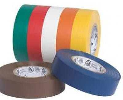 "3/4"" x 66' Black Electrical Tape"