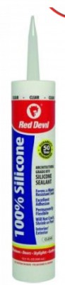 10.1oz 100% Silicone Sealant - White