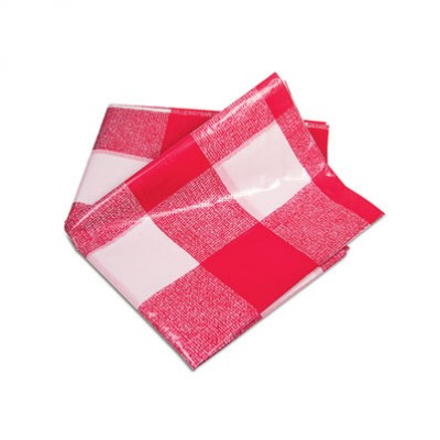 Plastic Patterned Table Cloth