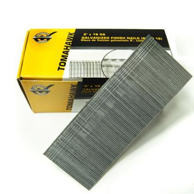 "1"" - 18GA Galvanized Finish Nails (5,000)"