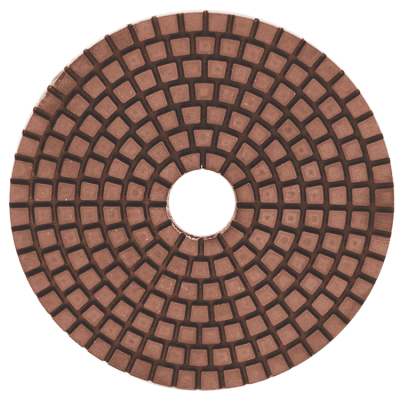 "4"" Wet Polishing Pads - Grit 50 - Contractor Series"
