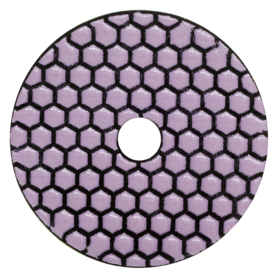 "4"" Dry Polishing Pads - Grit 3000 - Contractor Series"