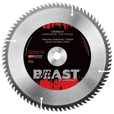 "8"" Crosscut Blades ATB Grind - BEAST Series"