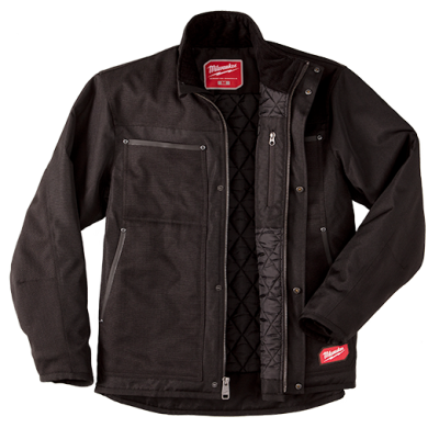 GRIDIRON™ Traditional Jacket - Black - Extra Large