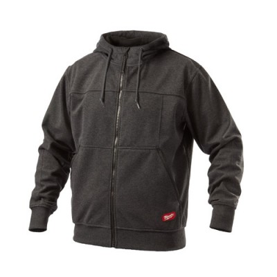 GRIDIRON™ Hooded Jacket - Black - Extra Large