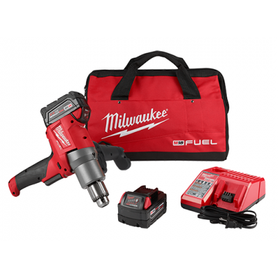 M18 FUEL™ Mud Mixer with 180° Handle Kit