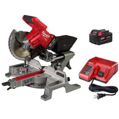 "M18 FUEL™ 7-1/4"" Dual Bevel Sliding Compound Miter Saw Kit"