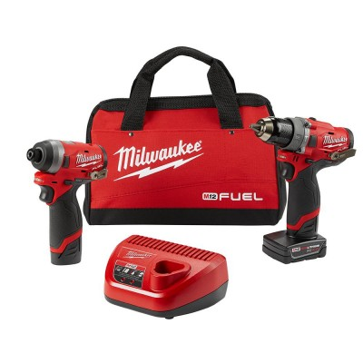 M12 FUEL™ 2-Tool Combo Kit Hammer Drill and Impact Driver