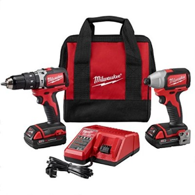 M18™ Compact Brushless Hammer Drill/Brushless Impact Combo Kit