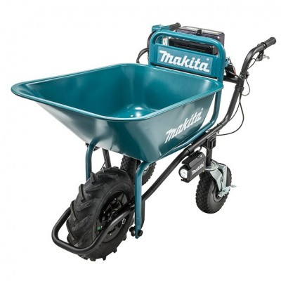 18V x2 LXT Power-Assisted Brushless Wheelbarrow with Bucket