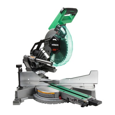 Sliding Dual Compound Miter Saw with Laser Marker