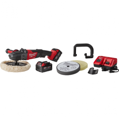 """M18 FUEL™ 7"""" Variable Speed Polisher Kit w/ Pads"""