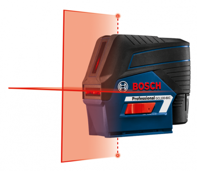 12V Max Connected Cross-Line Laser with Plumb Points