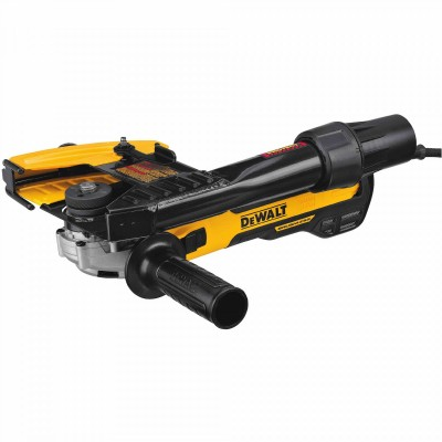 5 IN. / 6 IN. BRUSHLESS SMALL ANGLE GRINDER, SLIDE WITH TUCKPOINTING SHROUD