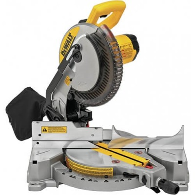 DeWalt DWS713 15 Amp 10 in. Compound Miter Saw