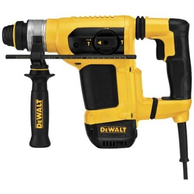 "Dewalt D25413K 1-1/8"" SDS Combination Hammer with SHOCKS Active Vibration Control"
