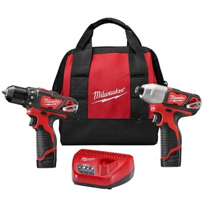 M12™ Cordless Lithium-Ion 2-Tool Combo Kit