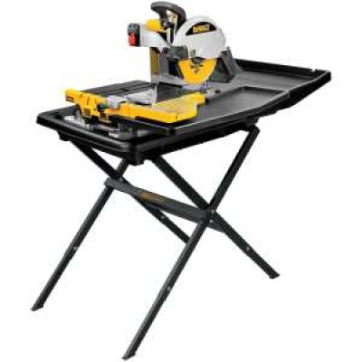 "10"" Wet Tile Saw with Stand"
