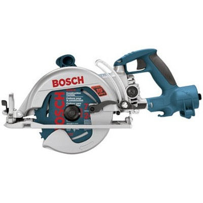 "7-1/4"" Worm Drive with Rear Handle Construction Saw"