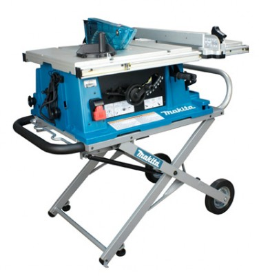 10'' Contractor Table Saw with Stand