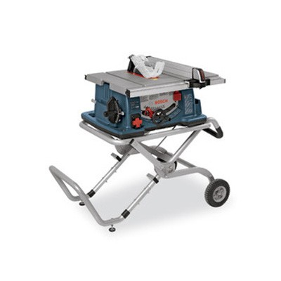 10-in Worksite Table Saw with Gravity-Rise Wheeled Stand