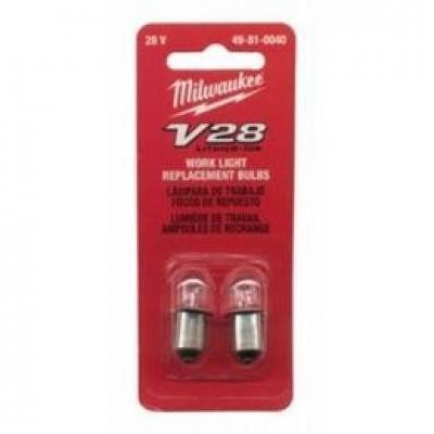 V28™ 2-Pack Work Light Replacement Bulbs