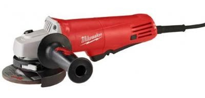 "4-1/2"" Small Angle Grinder, Paddle, Lock-On, 7.5 Amp"