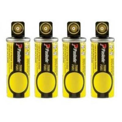 Short Yellow Fuel Cell 4-Pack for the Paslode Cordless Trim Nailers