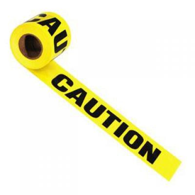 Barrier Tape - CAUTION