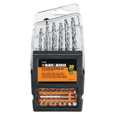 30-Piece Drilling and Screwdriving Set