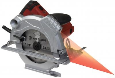 "7 1/4"" Circular Saw with Laser"
