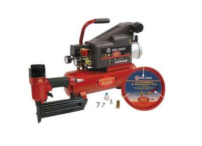 "1.5 HP Air Compressor (8449N) & 2"" Brad Nailer (8200N) Combo Kit"